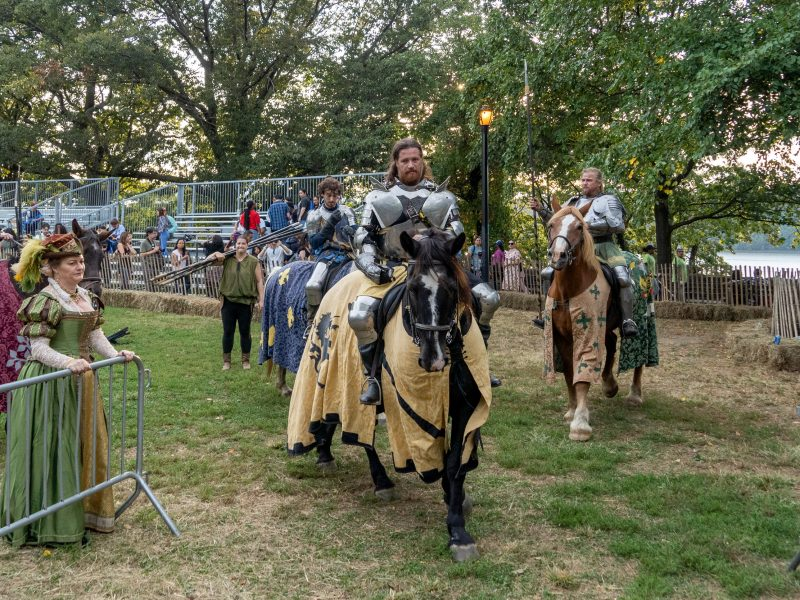 The Medieval Festival at Fort Tryon Park